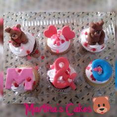 cupcakes de oso!