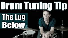 """Pro Drum Tech Kenny Sharretts brings you drum tuning tip """"The Lug Below"""" from his new raw series. Drum Lessons, Music Lessons, Drum Tuning, Drum Accessories, How To Play Drums, Double Bass, Music School, Drum Kits, Clarinet"""