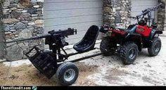Zombie four wheeler