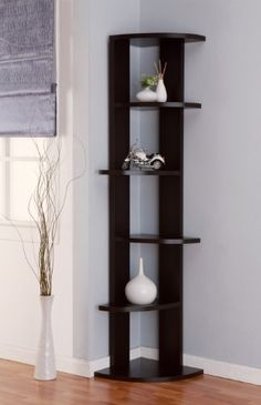 Enitial Lab Metro 5-Shelf Corner Display Stand/Bookcase, Cappuccino Enitial Lab http://www.amazon.com/dp/B00E4FS1XA/ref=cm_sw_r_pi_dp_ip8Ytb0D8AWQSYDP