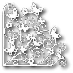 Tutti Designs - Dies - Fluterring Butterfly Corner