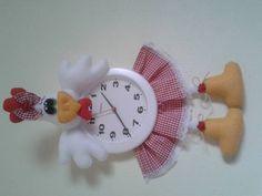 Relógio de Galinha