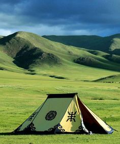 Gorgeous tent against striking background scenery in Mongolia The Places Youll Go, Places To See, Laos, Beautiful World, Beautiful Places, Places To Travel, Travel Destinations, Belle Photo, Wonders Of The World