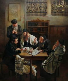 Discussing Talmud
