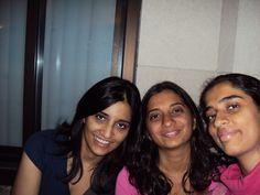 Anusha, Sneha and me