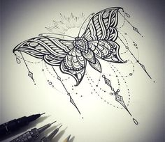 Ideas tattoo butterfly mandala tatoo for 2019 Trendy Tattoos, Unique Tattoos, Beautiful Tattoos, Small Tattoos, Tattoos For Women, Tattoos For Guys, Leg Tattoos, Flower Tattoos, Body Art Tattoos