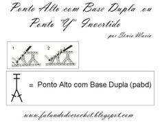 CASEADO DE CROCHE COM PASSO-A-PASSO / EM PONTO ALTO COM DUAS BASES