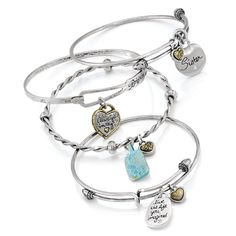 The Brighton Art and Soul Bangles are simple beauty! They make perfect gifts! #AshworthPrimandProperLoves