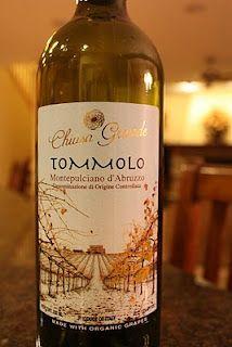 2009 Chiusa Grande Montepulciano d'Abruzzo Tommolo - An Organic Red Wine That Aims to Please. $6 at Trader Joe's
