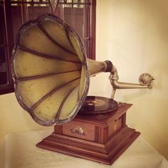 His Master's Voice Gramophone - Beamish Museum Tearooms