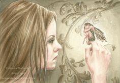Items similar to Connection -fantasy fairy gothic art print by Deanna Bach Art on Etsy Amy Brown Fairies, Unicorns And Mermaids, Gothic Art, Fairy Art, Fantasy Artwork, Faeries, Fairy Tales, Art Prints, Artist