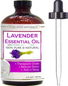 BEST Lavender Oil - 100 % NATURAL Premium Quality Bulgarian Huge 4 oz with Dropper - Lavender Essential Oil Uses, Treats Stress, Anxiety, and Depression - Lavender Oil Benefits, Ideal for Massages, Aromatherapy, Sleep Aid, Alleviating Headaches, and Migraine Relief - Lavender Oil for Skin, Moisturizes, Slows Aging, Improves Complexion and Eczema - 100% Pure Therapeutic-Grade Premium Lavender Oil. Link at; https://twitter.com/TheMarketer2015/status/616678420366393346/photo/1