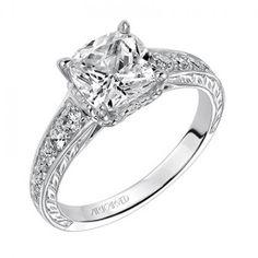 Anastasia ArtCarved Diamond Engagement Ring | Artcarved | JR Jewelers