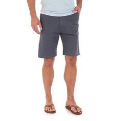 Wrangler Men's Advanced Comfort Wrangler® Flat Front Short (Size: 42x10) Blue
