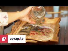 Ahşap boyamada yüz kat vernik nasıl uygulanır? - YouTube