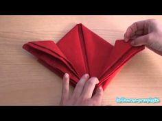 Sposób składania serwetek - http://www.kulinarne-przepisy.tv