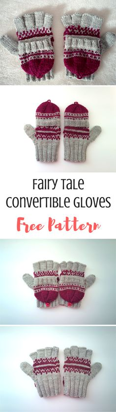 How pretty are these convertible knit gloves! Wear them fingerless to use your phone, or with the caps up to keep you warmer. The free knitting pattern is on the blog here!