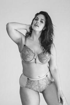 """Pin for Later: 7 Quotes From Model Ashley Graham That Will Instantly Boost Your Mood """"This is the generation of body diversity. The current is changing."""" Photo: Ashley Graham posing for the second issue of Icelandic Glamour. Ashley Graham, Celebrity Bodies, Plus Size Swimsuits, Plus Size Beauty, Bra And Panty Sets, Plus Size Model, Lingerie Models, Beautiful Models, How To Look Pretty"""