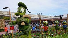 Epcot International Flower and Garden Festival: o festival de primavera de Epcot tem flores e jardins, mas tem muita comida e bebida também