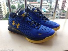 Under Armour Curry One Low Warriors (1)