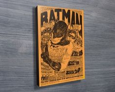 BATMAN CONCERT POSTER $26.00–$741.00 In one of the strangest concert promotions I'm aware of, Bill Graham decided that giving away a talking Mynah bird would increase concert attendance.  http://www.canvasprintsaustralia.net.au/  #Wallartonline #Wallart #Photocollageoncanvashigh