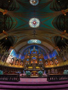 Notre-Dame Montreal by Roland Shainidze - Photo 43809358 - 500px