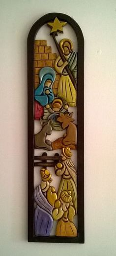 nice Top Summer Projects for Friday Nativity Crafts, Wood Crafts, Diy And Crafts, Christmas Projects, Christmas Time, Intarsia Wood, Christmas Nativity Scene, Nativity Scenes, Navidad Diy