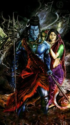 Shiva As Mahakal