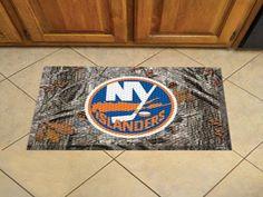 "NHL - New York Islanders Scraper Mat 19""x30"" - Camo"