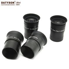 """1.25"""" 4mm 6.3m 10mm 12.5mm Eyepiece All Coating Film Plossl Astronomical Telescope Ocular Lens with Extinction Filter Thread"""