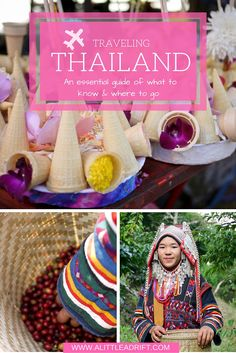 An essential guide of what to know and where to go in Thailand. http://alittleadrift.com/countries/traveling-thailand/
