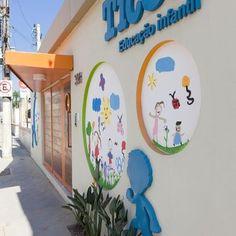 Projeto: Escola Infantil Ticos de Adell e Porto . - Viva Decora