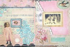 original pinner sez: Some pages from my art journal :)