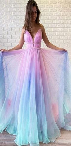 Long Prom Dress V-neck Beaded Graduation Gown Buy Ombre Long Prom Dress V-neck Beaded Graduation Gown .ukBuy Ombre Long Prom Dress V-neck Beaded Graduation Gown . Ombre Prom Dresses, Cute Prom Dresses, Elegant Dresses, Homecoming Dresses, Beautiful Dresses, Nice Dresses, Formal Dresses, Maxi Dresses, Ombre Gown