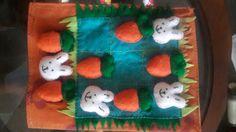 #quietbook #tictactoe #felt #handmade #carrot #bunny