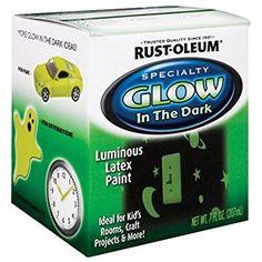 Rust-Oleum 214945 Glow in the Dark 7-Ounce, Glow In The Dark - Wall Decor Stickers - Amazon.com