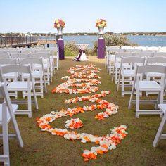 Perfect outside wedding spot