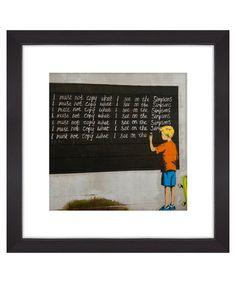 I must not copy print Sale - Banksy Sale