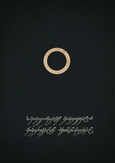 Fellowship of the Ring minimalist poster by Nathan Pierce.