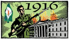<p>The Easter Rising (April 1916). The uprising against British rule proclaimed an independent Irish Republic. The Nationalists numbered no more tha 3,000 men and women