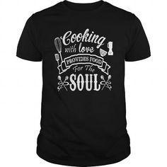 COOKING WITH LOVE T Shirts, Hoodies, Sweatshirts. CHECK PRICE ==► https://www.sunfrog.com/Jobs/COOKING-WITH-LOVE-105115036-Black-Guys.html?41382