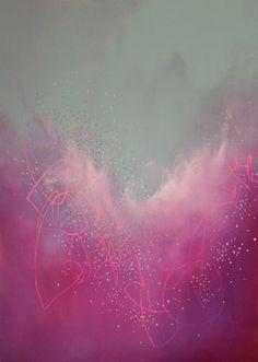 "Saatchi Online Artist Georgina Vinsun; Painting, ""Onya"" #art"