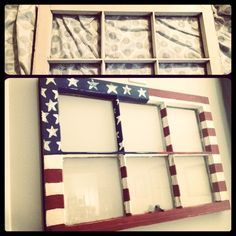 Make your July decorations even more crative and special with DIY Patriotic Day wooden crafts. These wood working projects are perfect for summer. Americana Crafts, Patriotic Crafts, July Crafts, Old Window Projects, Craft Projects, Shutter Projects, Auction Projects, Window Art, Window Ideas