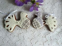 Gingerbread - doves