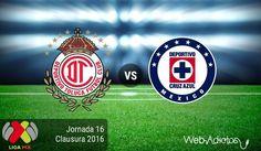 Toluca vs Cruz Azul, Jornada 16 del Clausura 2016 ¡En vivo por internet! - https://webadictos.com/2016/05/01/toluca-vs-cruz-azul-clausura-2016/?utm_source=PN&utm_medium=Pinterest&utm_campaign=PN%2Bposts