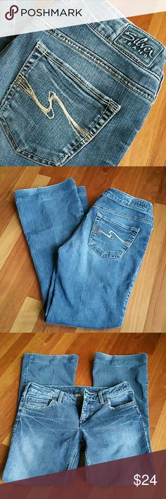 Silver Aiko Jeans Aiko style.  29/31 Silver Jeans Jeans Boot Cut