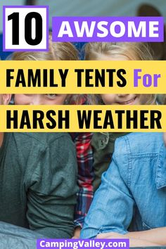 Are you going on a family camping trip in the season when the rain is expected? If you don't have a waterproof tent yet check one of the best family camping tents to protect your family. Best Family Camping Tents, First Time Camping, Camping With A Baby, Kayak Camping, Camping And Hiking, Camping Hacks, 8 Person Tent, Waterproof Tent, Tent Sale