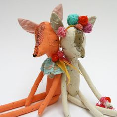 these handmade dolls are the sweetest.