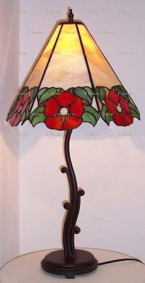 Pintura y Tiffany: Tiffany, Lámparas varias.