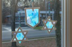From fun DIY menorahs to pretty dreidel paper crafts, celebrate the festival of light with these kid-friendly Hanukkah projects.